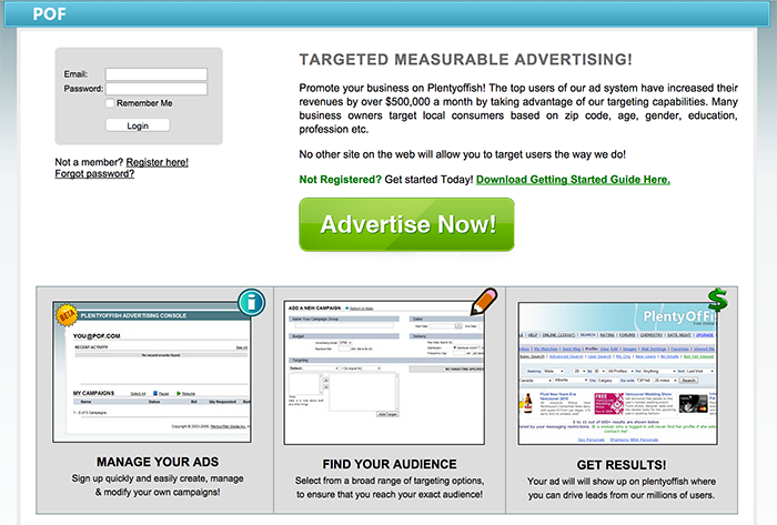 9 lesser known google adwords alternatives that don t hate for Www plenty of fish